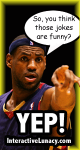 LeBron James Jokes funny jokes humor miami heat jokes NBA