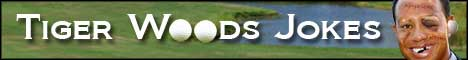 tiger woods jokes humor comedy funny websites web pages golf jokes
