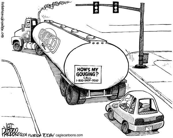 high gas prices funny cartoons  photos  pictures